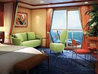 Описание на каюта Апартамент Penthouse с голям балкон – категория SE на круизен кораб Norwegian STAR – обзавеждане, площ, разположение