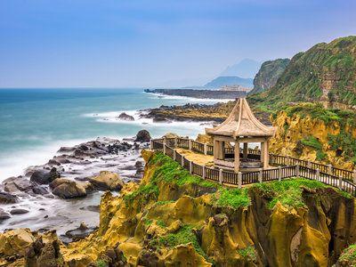Описание и снимки на пристанище Кеелунг, Китайска провинция Тайван от круизен маршрут