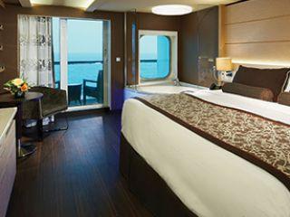 Описание на каюта The Haven Spa апартамент с балкон H9 на круизен кораб Norwegian Breakaway – обзавеждане, площ, разположение