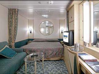 Описание на каюта Inside Stateroom –  категория Q на круизен кораб MARINER of the Seas – обзавеждане, площ, разположение