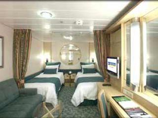 Описание на каюта Interior - категория M на круизен кораб LIBERTY of the Seas – обзавеждане, площ, разположение