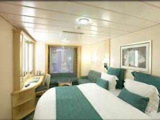 Описание на каюта Promenade - категория PR на круизен кораб LIBERTY of the Seas – обзавеждане, площ, разположение
