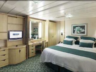 Описание на каюта Family Interior - категория FI на круизен кораб LIBERTY of the Seas – обзавеждане, площ, разположение