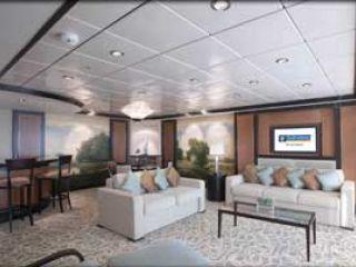 Описание на каюта Royal Suite - категория RS на круизен кораб LIBERTY of the Seas – обзавеждане, площ, разположение