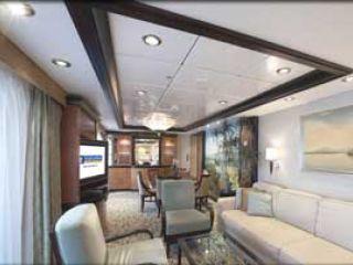 Описание на каюта Presidential Family Suite - категория PS на круизен кораб LIBERTY of the Seas – обзавеждане, площ, разположение