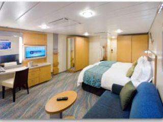 Описание на каюта Family Promenade Stateroom – категория FI на круизен кораб OASIS of the Seas – обзавеждане, площ, разположение
