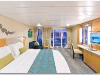 Описание на каюта Central Park View Balcony – категория C1 на круизен кораб OASIS of the Seas – обзавеждане, площ, разположение