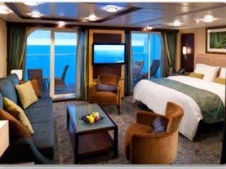 Описание на каюта Grand Suite – голям апартамент, категория GS на круизен кораб OASIS of the Seas – обзавеждане, площ, разположение