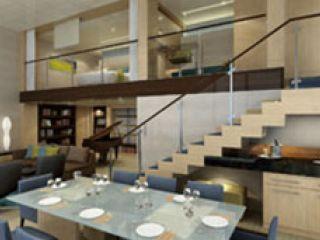 Описание на каюта Royal Loft Suite Balcony - двуетажен кралски апартамент, категория RL на круизен кораб ALLURE Of The Seas – обзавеждане, площ, разположение
