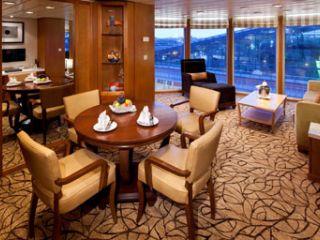 Описание на каюта Голям апартамент Celebrity Suite – категория CS на круизен кораб Celebrity CONSTELLATION – обзавеждане, площ, разположение