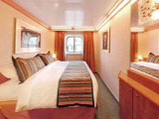 Описание на каюта Външни каюти - клас Premium  на круизен кораб Costa LUMINOSA – обзавеждане, площ, разположение