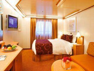 Описание на каюта Външни каюти - клас Premium  на круизен кораб Costa DELIZIOSA – обзавеждане, площ, разположение