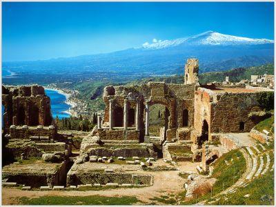 Описание и снимки на пристанище о-в Сицилия (Таормина), Италия от круизен маршрут