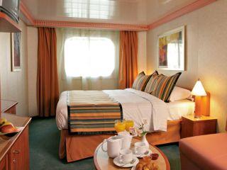 Описание на каюта Външни каюти - клас Classic на круизен кораб Costa PACIFICA – обзавеждане, площ, разположение
