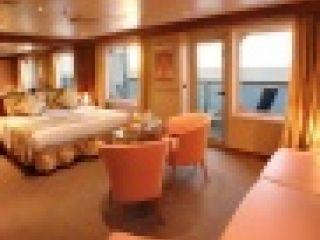Описание на каюта Апартамент - категория GS на круизен кораб Costa DIADEMA – обзавеждане, площ, разположение
