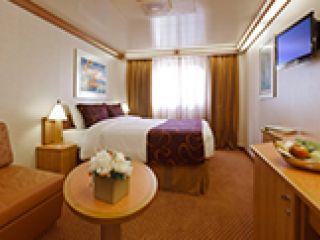 Описание на каюта Външни каюти - клас Premium  на круизен кораб Costa FASCINOSA – обзавеждане, площ, разположение
