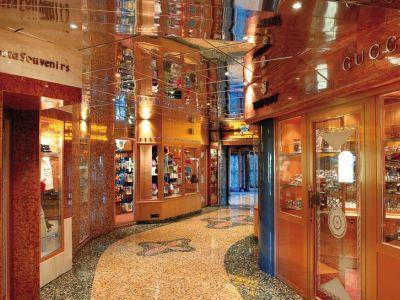 Круизен кораб Costa MEDITERRANEA на COSTA Cruises