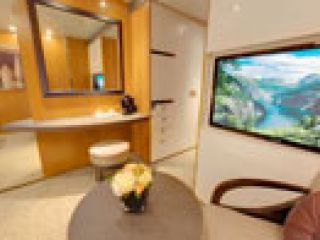 Описание на каюта Вътрешна каюта - Категория Premium на круизен кораб Costa neoROMANTICA – обзавеждане, площ, разположение
