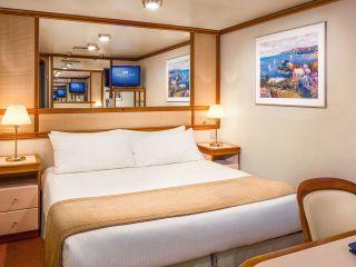 Описание на каюта Вътрешни каюти на круизен кораб Diamond Princess – обзавеждане, площ, разположение