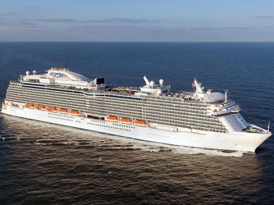 Круизен кораб Regal Princess на Princess Cruises