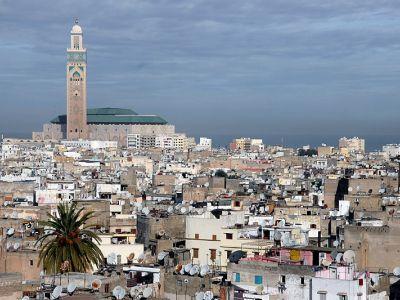 Описание и снимки на пристанище Казабланка, Мароко от круизен маршрут