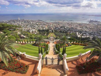 Описание и снимки на пристанище Хайфа, Израел от круизен маршрут
