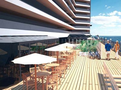 Круизен кораб MSC Seaside на MSC Cruises