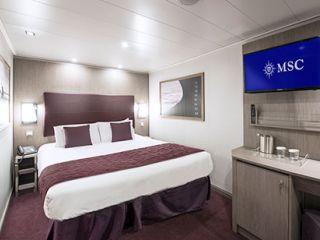 Описание на каюта Вътрешни каюти - клас BELLA на круизен кораб MSC Seaside – обзавеждане, площ