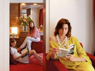 Описание на каюта Семеен апартамент на круизен кораб MSC Seaside – обзавеждане, площ