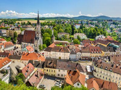 Описание и снимки на пристанище Мелк, Австрия от круизен маршрут