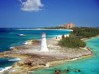Описание и снимки на пристанище Насау, Бахамските острови от круизен маршрут