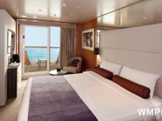 Описание на каюта Каюти с балкон - клас Basic на круизен кораб Costa neoROMANTICA – обзавеждане, площ