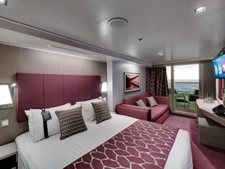 Описание на каюта Голям апартамент на круизен кораб MSC Seaview – обзавеждане, площ