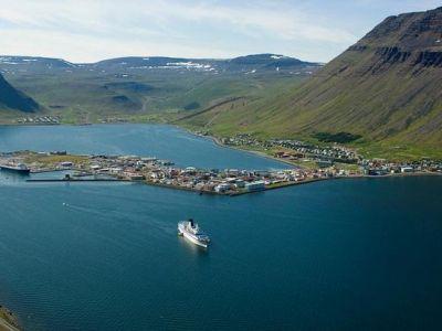 Описание и снимки на пристанище Исафьордюр, Исландия от круизен маршрут