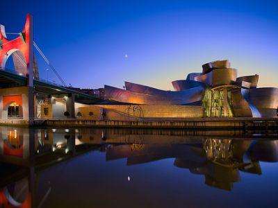 Описание и снимки на пристанище Билбао, Испания от круизен маршрут