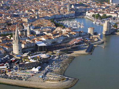Описание и снимки на пристанище Ла Рошел, Франция от круизен маршрут