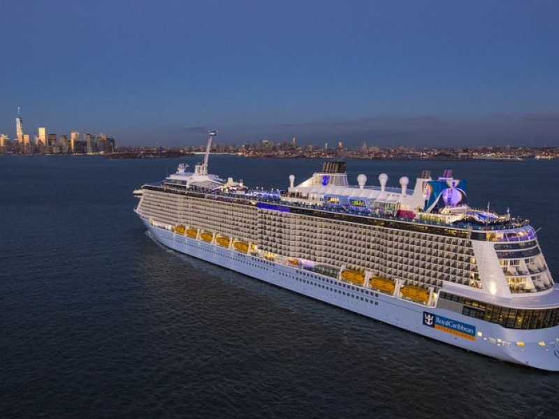 Круизен кораб QUANTUM of the seas на Royal Caribbean Intl.