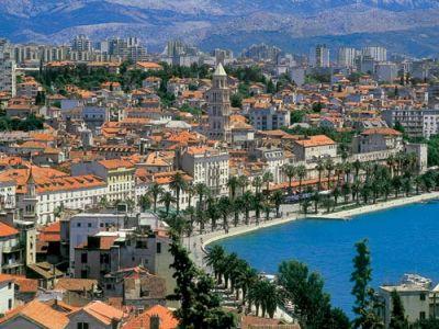 Описание и снимки на пристанище Сплит, Хърватия (Хърватска) от круизен маршрут