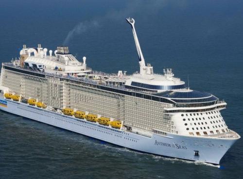 Круизен кораб ANTHEM of the seas на Royal Caribbean Intl.