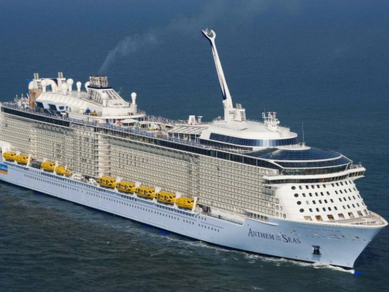 Круизен кораб ANTHEM of the seas на Royal Caribbean Intl.