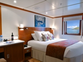 Описание на каюта Premium Ocean View Stateroom - категория XP на круизен кораб Celebrity Xperience – обзавеждане, площ