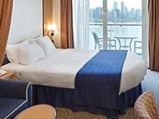 Описание на каюта Ocean View Balcony – категория 6D на круизен кораб RADIANCE of the seas – обзавеждане, площ