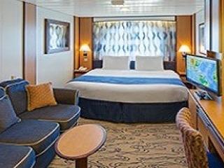 Описание на каюта Ocean View Stateroom - категория 8N на круизен кораб JEWEL of the Seas – обзавеждане, площ