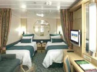 Описание на каюта Interior Cabin – категория 2V на круизен кораб INDEPENDENCE  of the seas – обзавеждане, площ