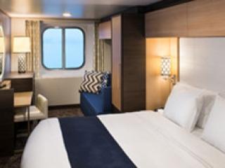 Описание на каюта Ocean View Stateroom - категория 2N на круизен кораб ANTHEM of the seas – обзавеждане, площ