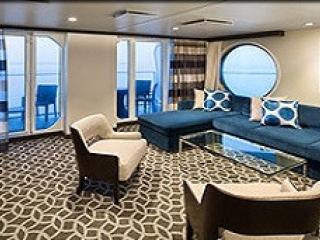 Описание на каюта Grand Suite - 2 Bedroom's – семеен апартамент, категория GT на круизен кораб ANTHEM of the seas – обзавеждане, площ