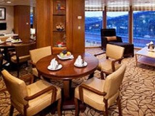 Описание на каюта Celebrity Suite - Голям апартамент – категория CS на круизен кораб Celebrity MILLENNIUM – обзавеждане, площ