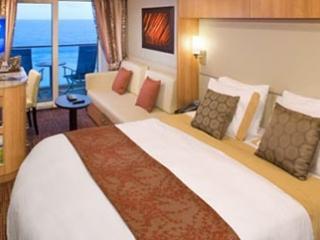 Описание на каюта Concierge Class – ВИП каюти - категории C3 на круизен кораб Celebrity Infinity – обзавеждане, площ