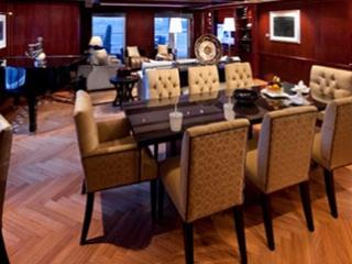 Описание на каюта Penthouse Suite - Супер-луксозен апартамент – категория PS на круизен кораб Celebrity Infinity – обзавеждане, площ