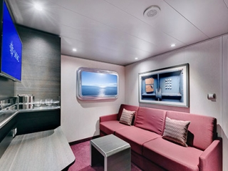 Описание на каюта Вътрешни каюти – клас Bella на круизен кораб MSC Bellissima – обзавеждане, площ